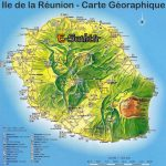 Carte ile de la reunion michelin